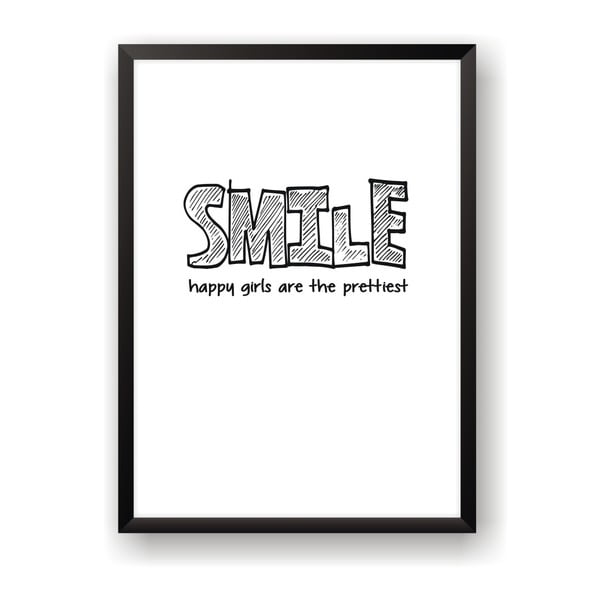 Plakat Nord & Co Smile, 21 x 29 cm