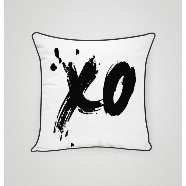 Poszewka na poduszkę XO Black, 45x45 cm
