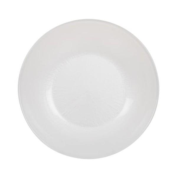 Komplet 18 talerzy ceramicznych Milano Blue/White