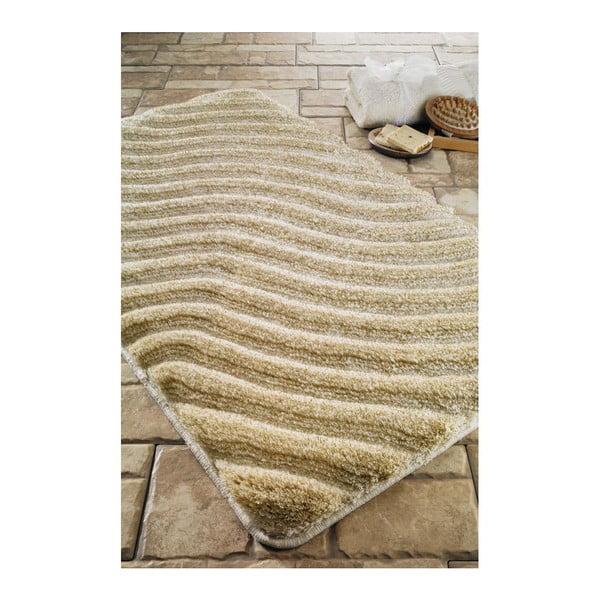 Dywanik łazienkowy Halikarnas Beige, 60x100 cm