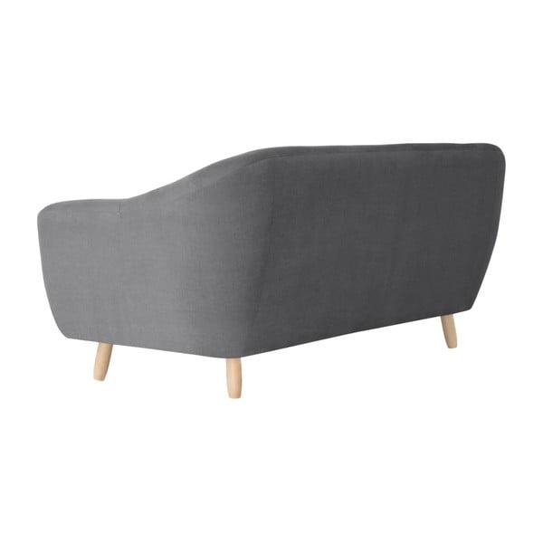 Szara sofa 3-osobowa Jalouse Maison Vicky
