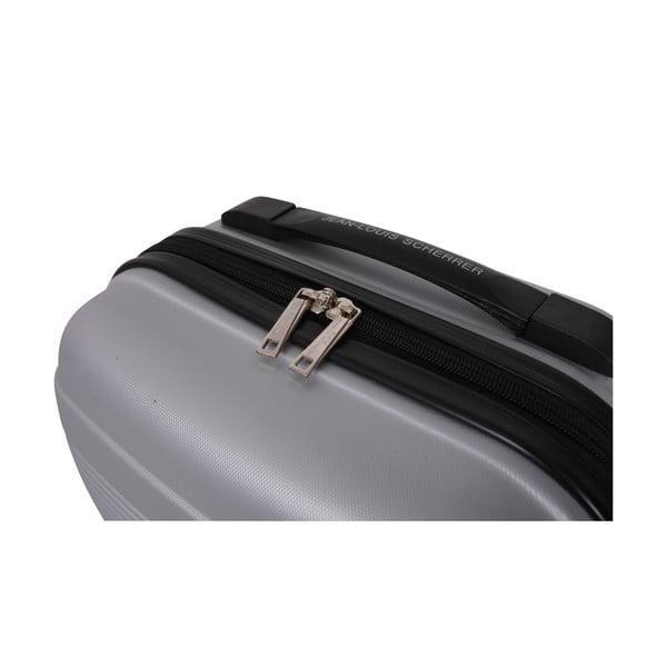 Walizka z bagażem podręcznym Case Jean Louis Scherrer Silver