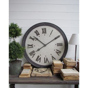 Zegar ścienny Industrial, 80 cm