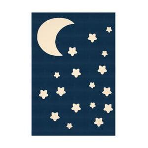 Granatowy dywan dziecięcy Zala Living Night Sky, 140x200 cm