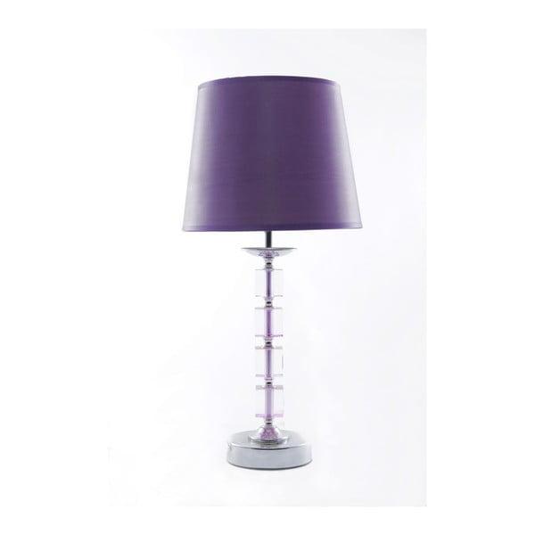 Lampa stołowa Tall Violet, 46,5 cm