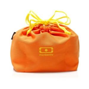 Pomarańczowy pokrowiec na pojemnik obiadowy Monbento