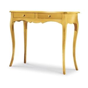 Złota konsola drewniana Castagnetti