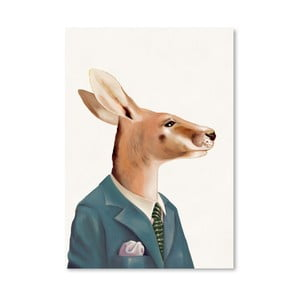 "Plakat ""Kangaroo"", 30x42 cm"