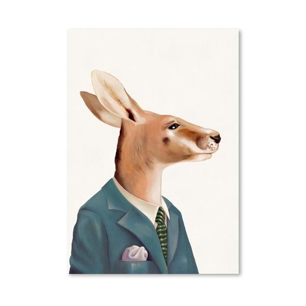"Plakat ""Kangaroo"", 42x60 cm"