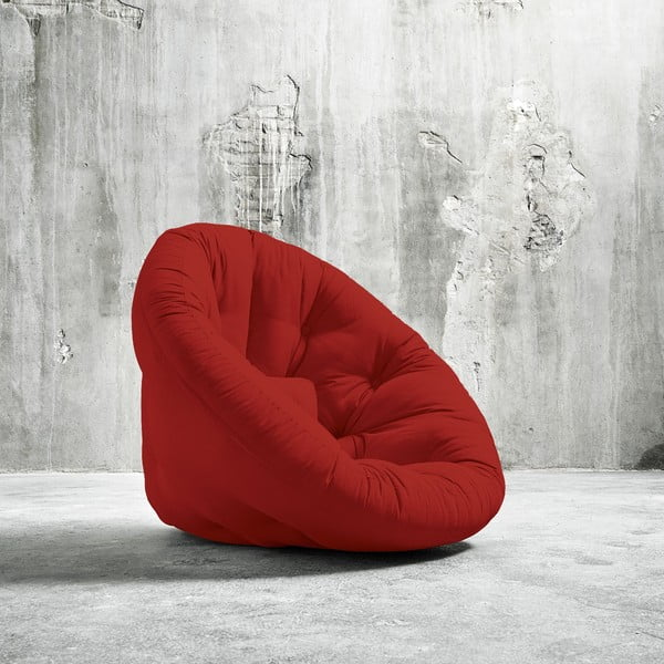 Fotel rokładany Karup Nido Red