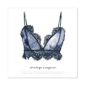 Plakat Leo La Douce Vintage Lingerie, 30x30cm