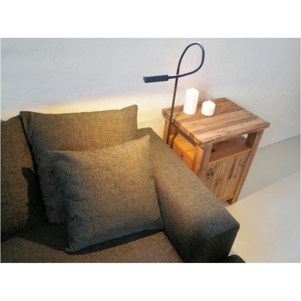 Lampa przytwierdzana do fotela Symbios, czarna
