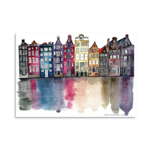 Plakat Amsterdam, 30x42 cm