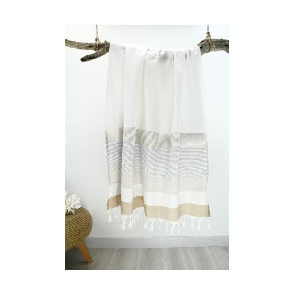 Ręcznik hammam Bath Style White, 90x180 cm