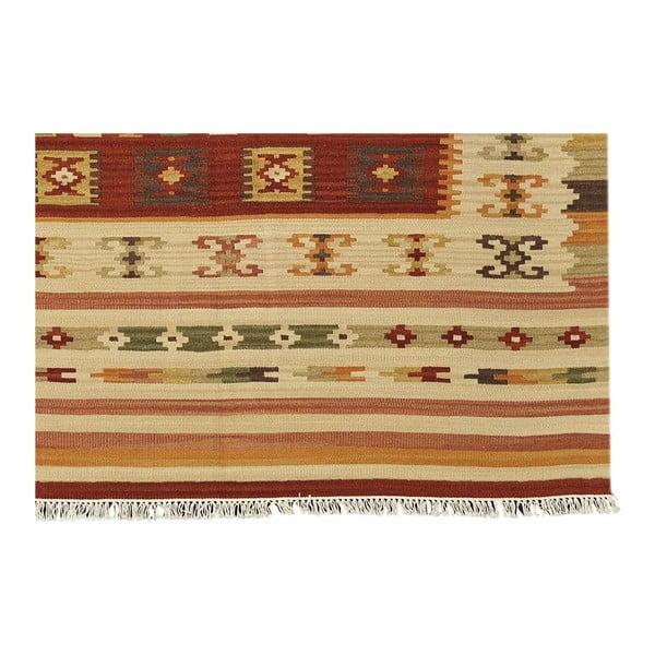 Dywan tkany ręcznie Kilim Julep, 95x155cm
