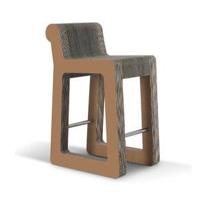 Barowe kartonowe krzesło Knob Stool