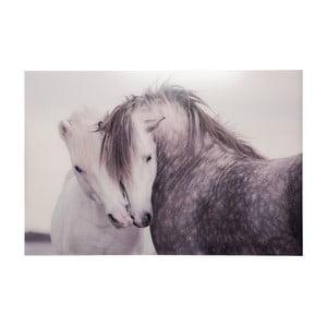 Szklany obraz Horses, 80x120 cm