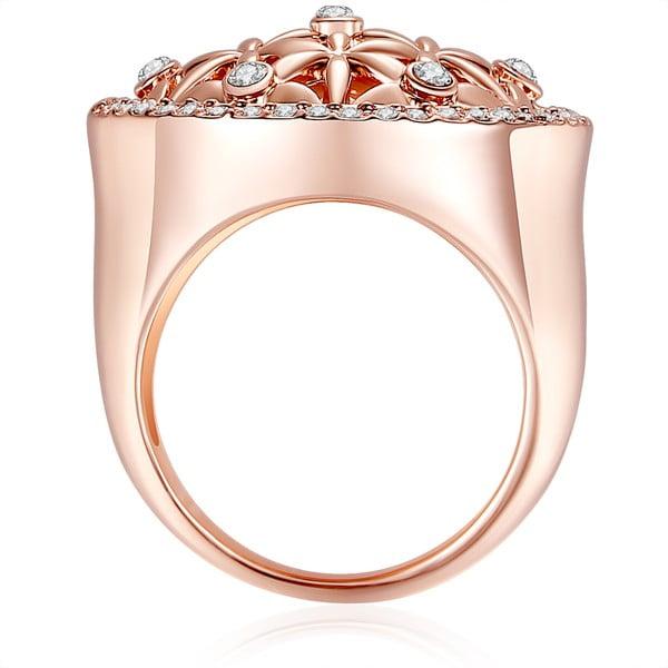 Pierścionek z kryształami Swarovski Lilly & Chloe Clarisse, rozm. 50
