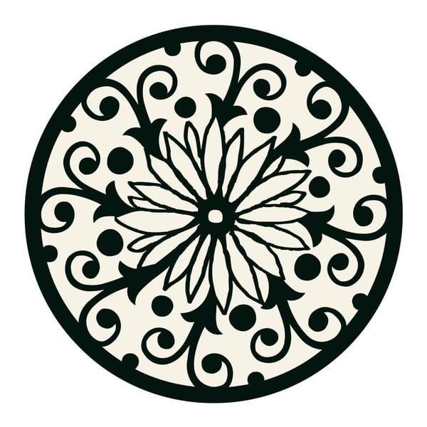 Naklejki Mandala, black/white, 4 szt
