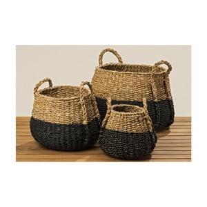Zestaw 3 koszyków z morskiej trawy Boltze Sophian