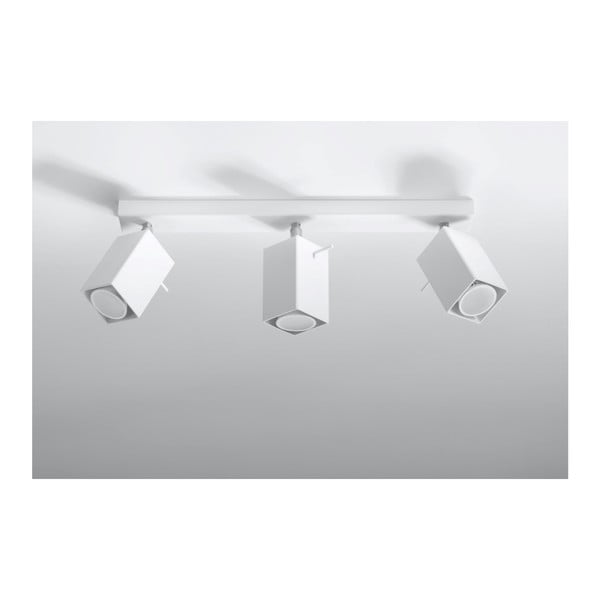 Biała lampa sufitowa Nice Lamps Toscana 3