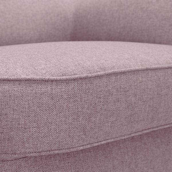 Różowy fotel Vivonita Eden