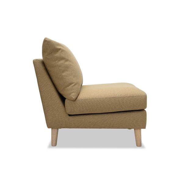 Beżowy fotel Vivonita Liam