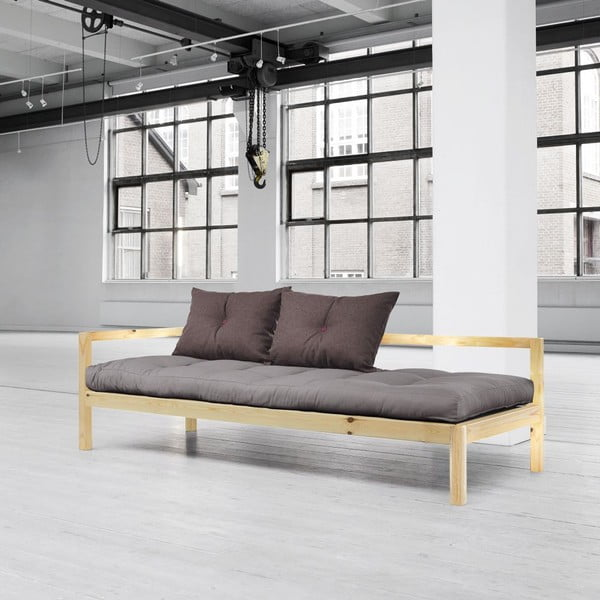 Sofa wielofunkcyjna Karup Soul Clear Iacquered/Gris/Light Bordeaux