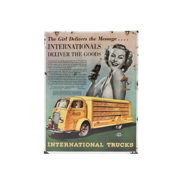 Tabliczka na ścianę Novita Intern Trucks