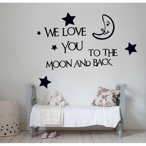 Naklejka ścienna We Love You, 60x90 cm