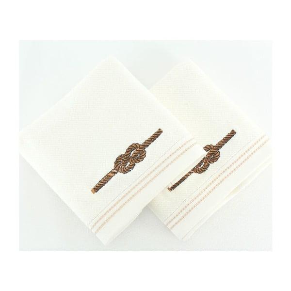 Zestaw 2 ręczników Dugum, 50x90 cm