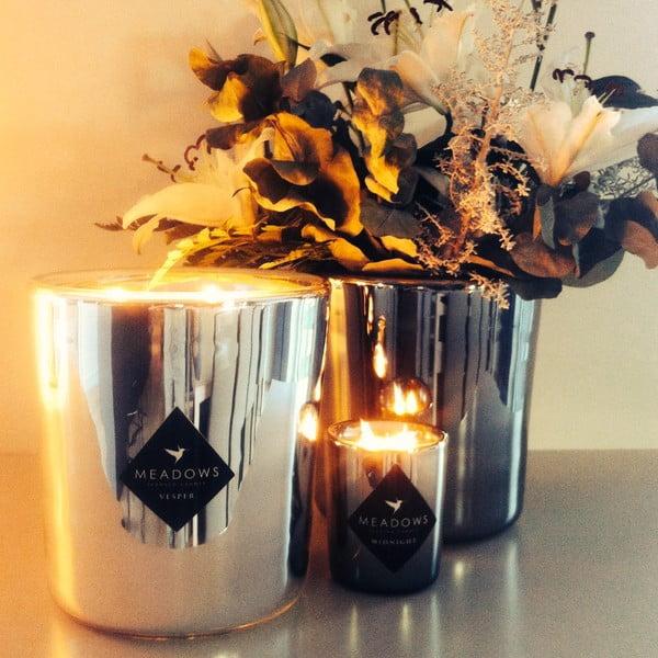 Zestaw świeczek Vesper Collection - cedr, drzewo sandałowe, wanilia, chili