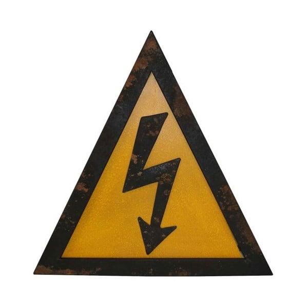 Metalowy znak Antic Line Electricite
