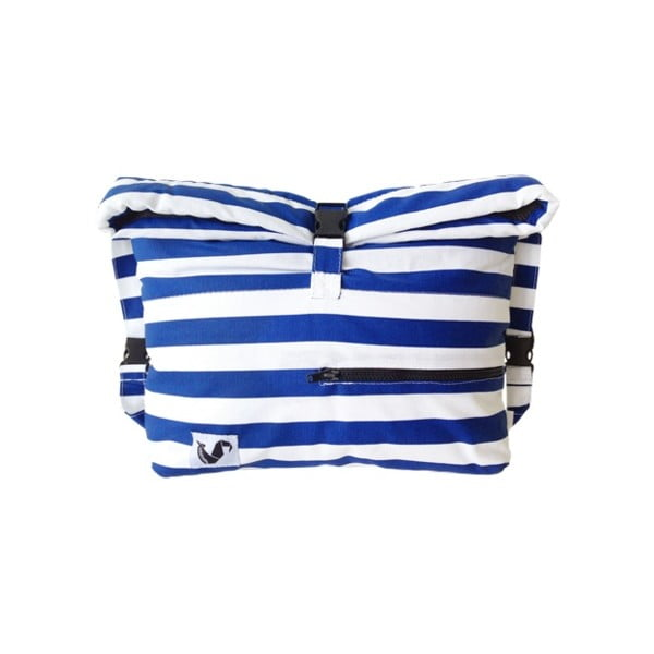 Wodoodporna torba Pocket Blue Stripes