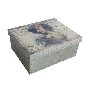 Metalowe pudełko Antic Line Angel Square