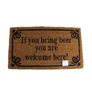 Wycieraczka Welcome Beer, 40x70 cm