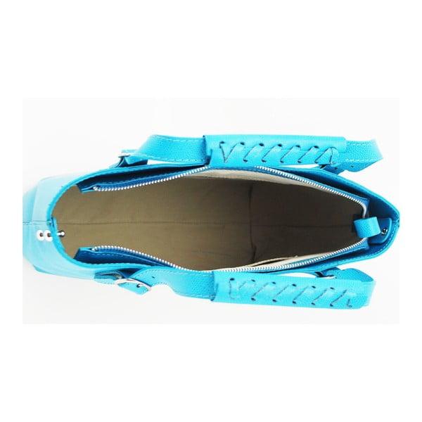 Skórzana torebka Chichi Turquoise