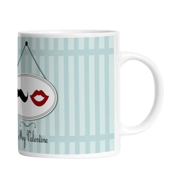 Ceramiczny kubek Be My Valentine, 330 ml