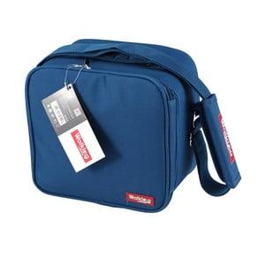 Niebieska torba obiadowa Bergner Cube