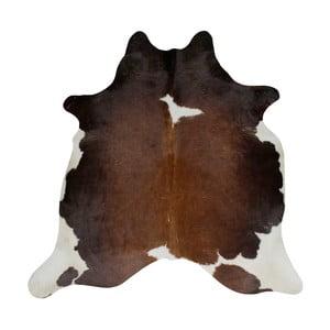 Czarno-brązowa skóra bydlęca, 196x160 cm