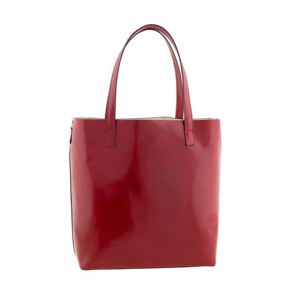 Czerwona torebka skórzana Ore Diece Trapani