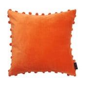 Pomarańczowa poduszka Ragged Rose Arabella Velvet