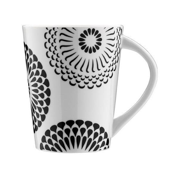 Porcelanowy kubek Kwiatowy ornament, 275 ml