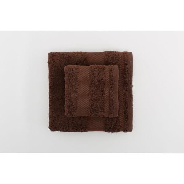 Zestaw 2 ręczników Clio Dark Brown
