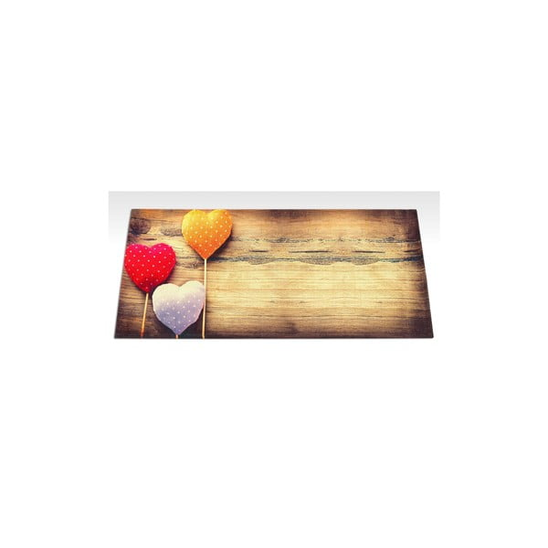 Wytrzymały dywan kuchenny Webtapetti Sweethearts, 60x140 cm