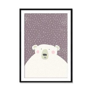 Oprawiony obraz Bear, 50x70 cm