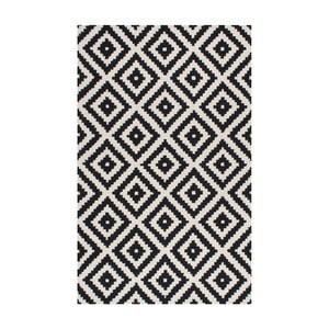 Wełniany dywan Gigos Black, 122x182 cm