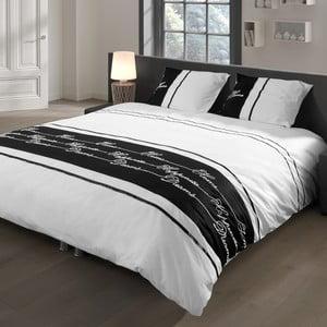 Pościel Descanso White/Black, 140x200 cm