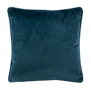 Ciemnoniebieska poduszka Tiseco Home Studio Velvety, 45x45 cm
