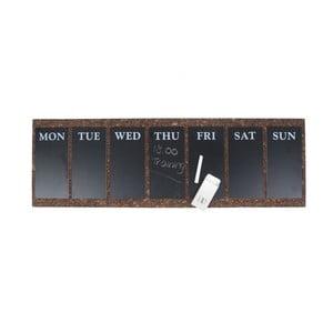 Kalendarz tygodniowy w formie tablicy Present Time Cork